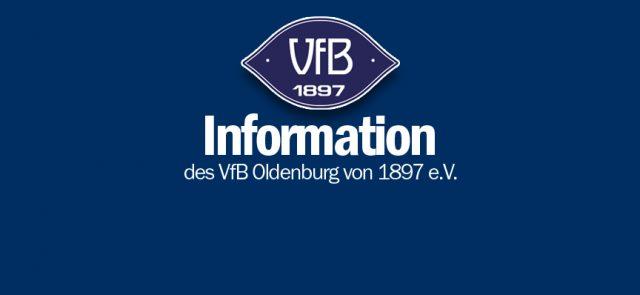 An die Mitglieder der VfB Oldenburg von 1897 e.V. Cricket-Abteilung