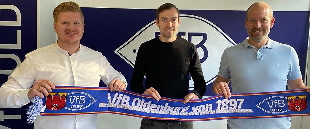 Sebastian Schachten übernimmt sportliche Leitung beim VfB Oldenburg