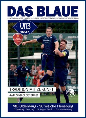 DAS BLAUE - Stadionzeitung des VfB Oldenburg