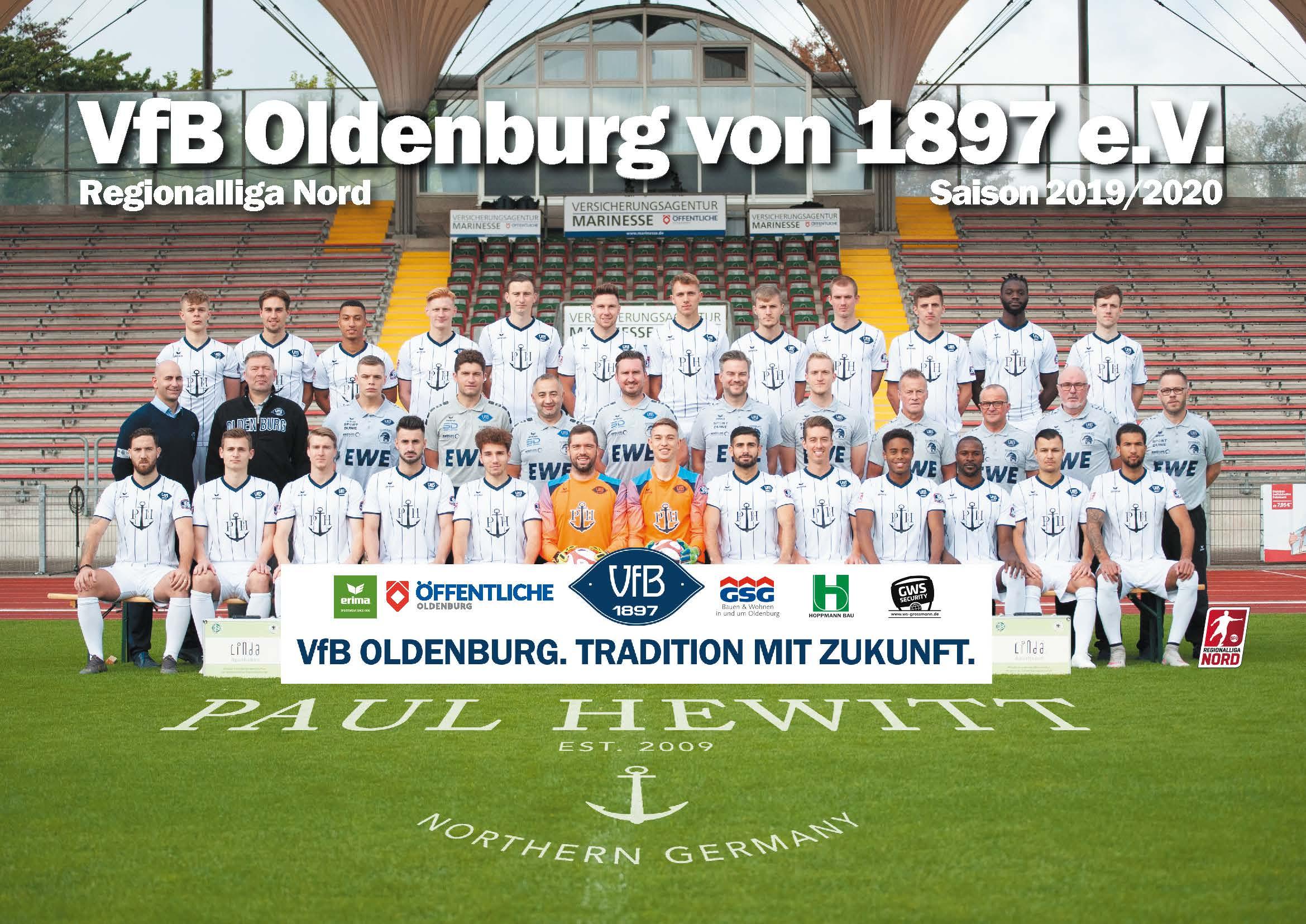 Regionalliga-Mannschaft 2019/2020